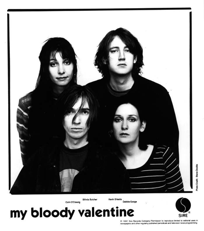 My Bloody Valentine, Bilinda Butcher, Kevin Shields, Debbie Googe, Colm Ou0027