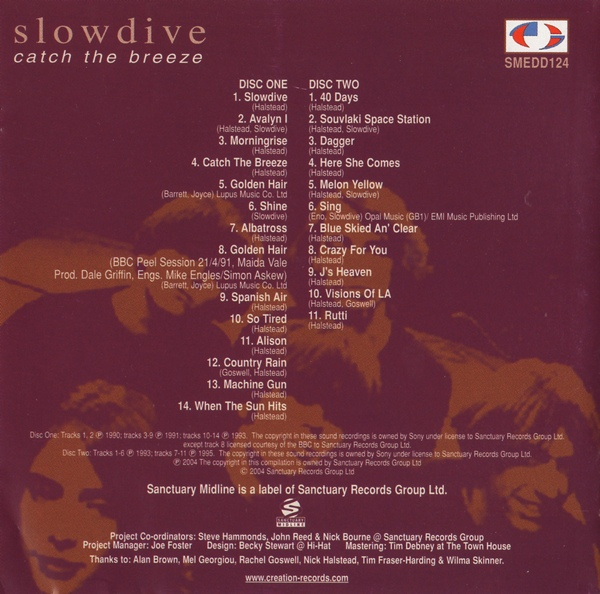 Slowdive, Catch The Breeze