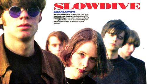 Slowdive Souvlaki Album Cover